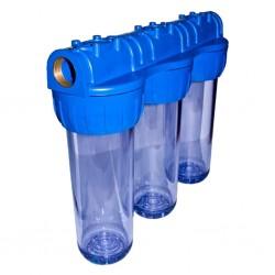 Daire Sayaç Girişi Su Arıtma Cihazı Filtre Kabı